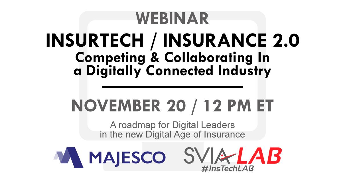 InsurTech Webinar / Insurance 2.0: